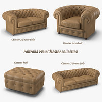 Poltrona Frau Chester Collection