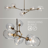 3D model branching bubble lindsey adelman