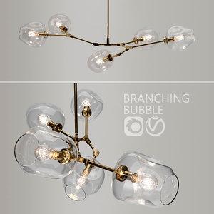 3D model branching bubble lindsey adelman