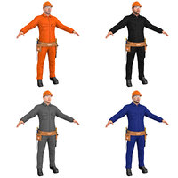3D pack worker
