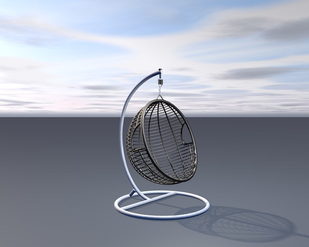 bamboo seat 3D