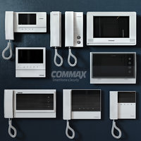 3D doorphones commax model