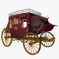 stagecoach 3D