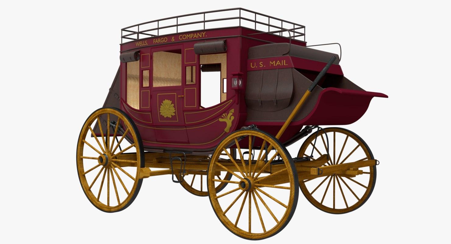 stagecoach 3D