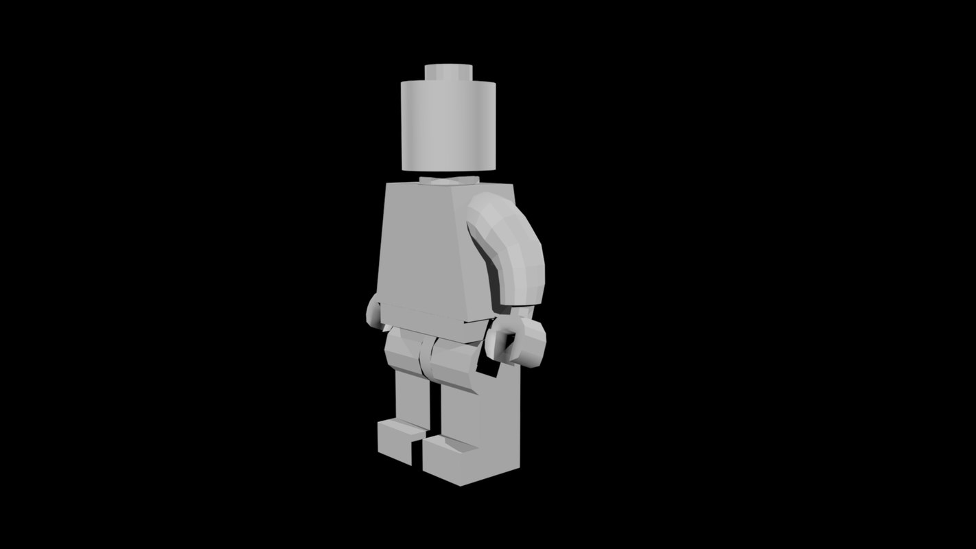 lego toy 3D model