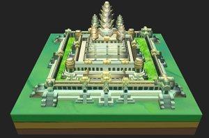 3D model angkor wat