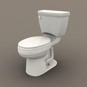 3D ready toilet