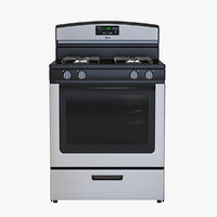 Amana 5 1 Cu Ft Gas Oven Range With Sealed Gas Burners Model #Agr5330bas