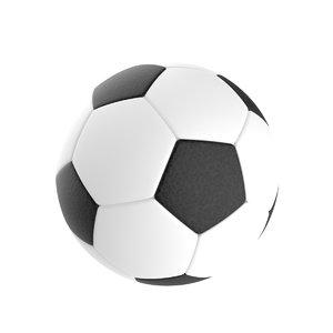 football soccerball 3D model