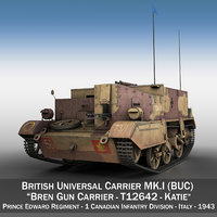 bren gun carrier - model