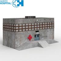 3D haunted hospital