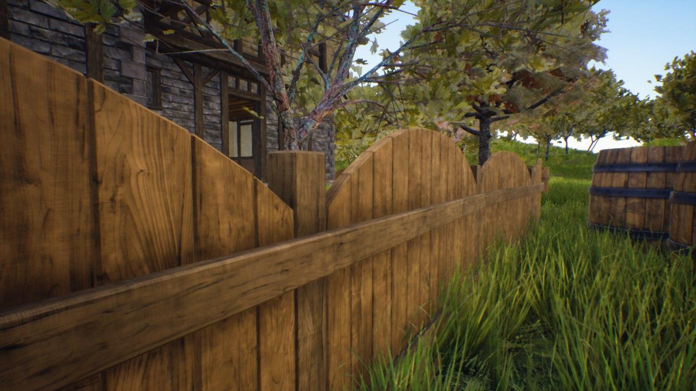 3D modular fence