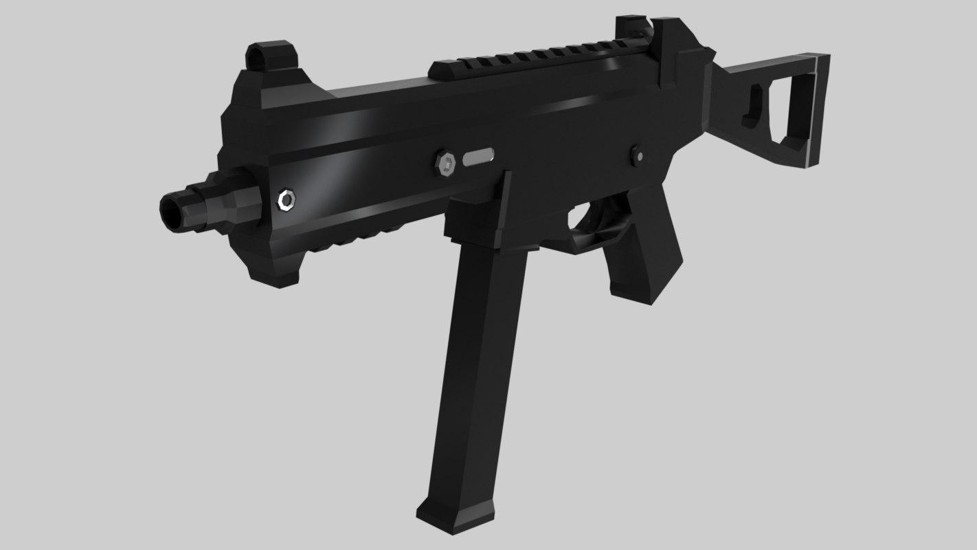 3D universal machine gun -