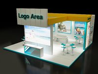Booth Exhibition Stand a164