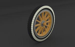 old wheel model
