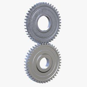 3D gears pieces