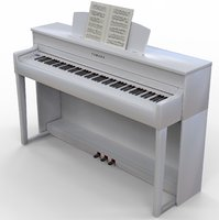optimized digital piano yamaha 3D model