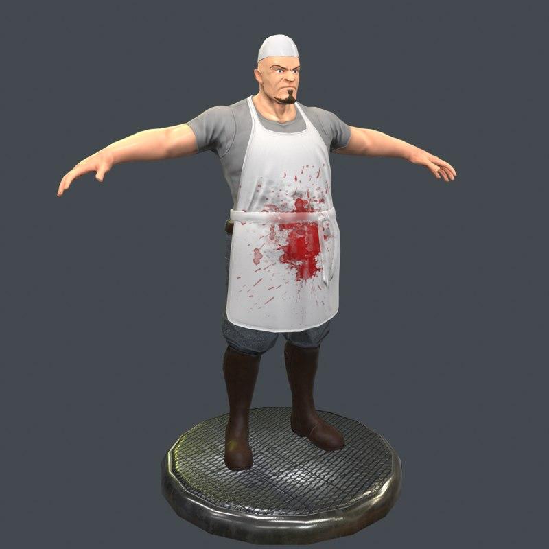 butcher 3D