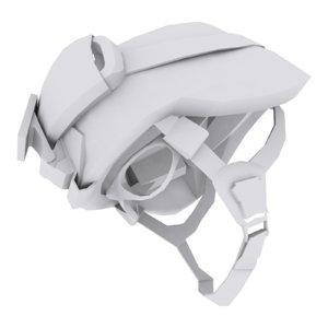3D model military helmet