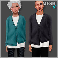 male female sweater model