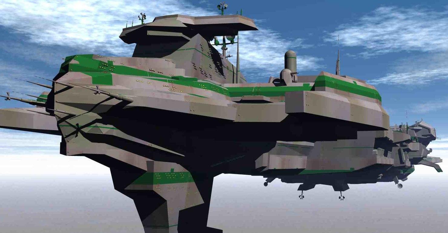 s 3 3D model