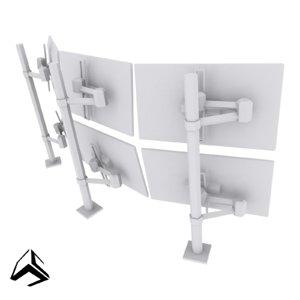 3D model multi setup