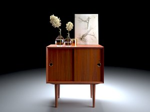interior credenza set model