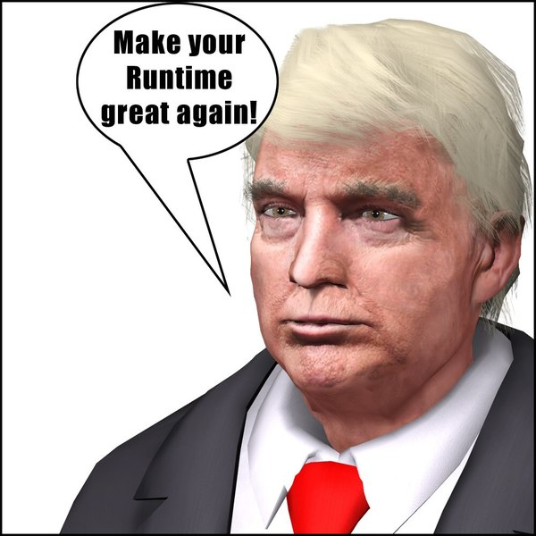 figure president 45 poser 3D model
