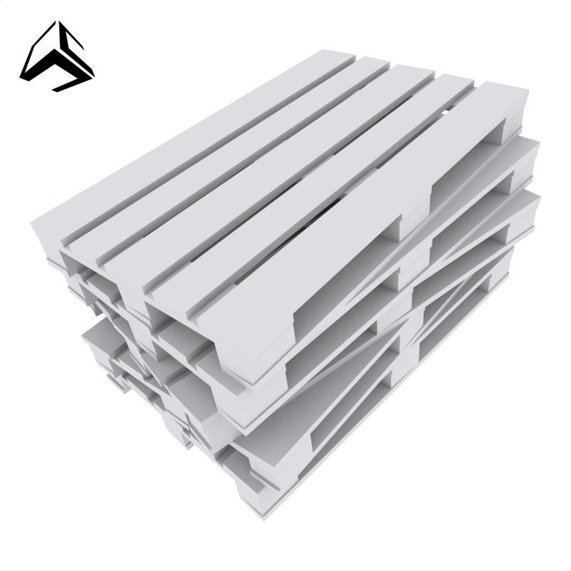 3D pallets model