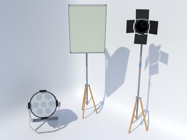 3D light rush par studio