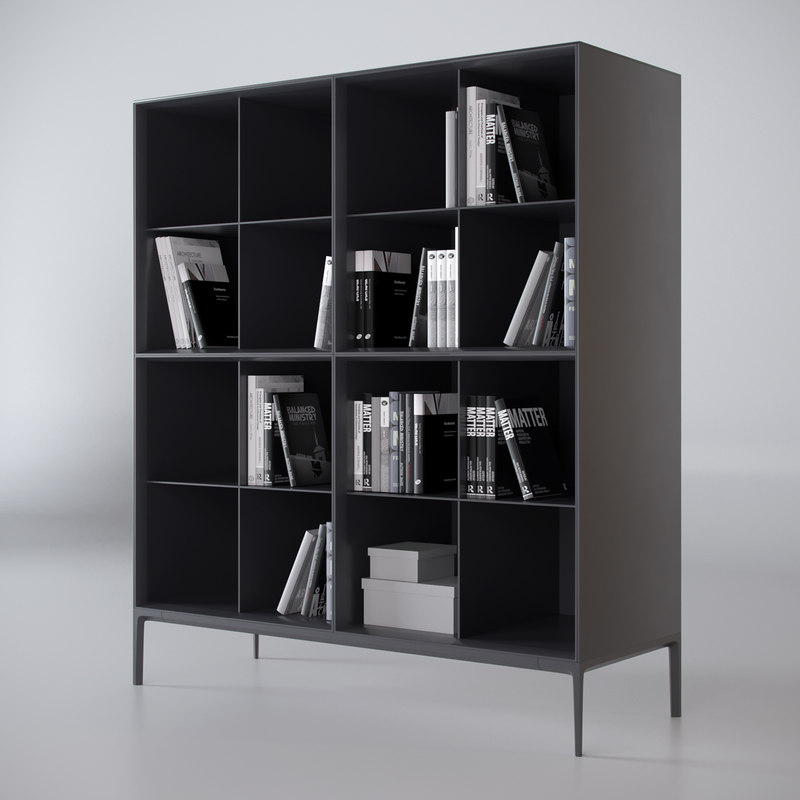 rimadesio bookcase self 3D model