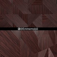 3D wooden panels emmemobili model