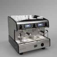 Franke coffee machine T200 compact 2 group