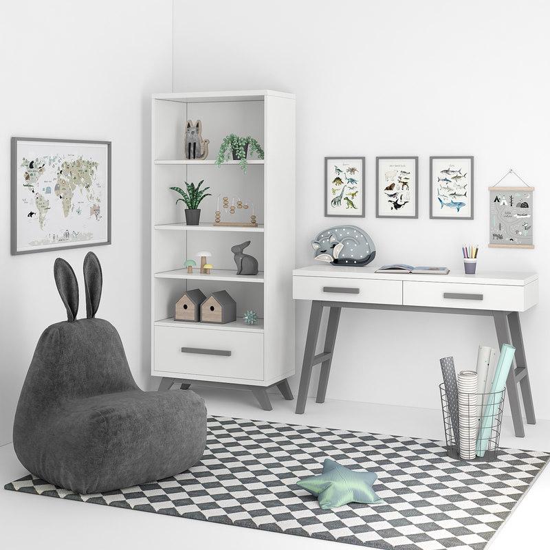 3D decor furniture