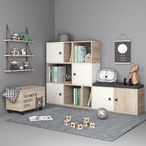 furniture decor 3D model