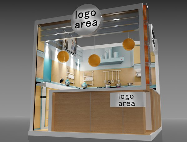 3D stand exhibition