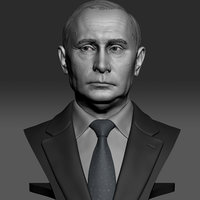 3D president vladimir putin