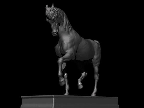 statue david 3D