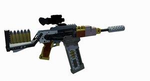 gun vera 3D model