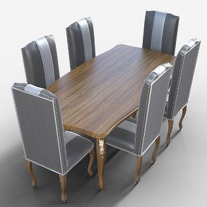dining set model