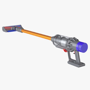 photoreal vacuum cleaner dyson 3D