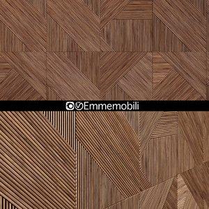 wooden panels emmemobili model