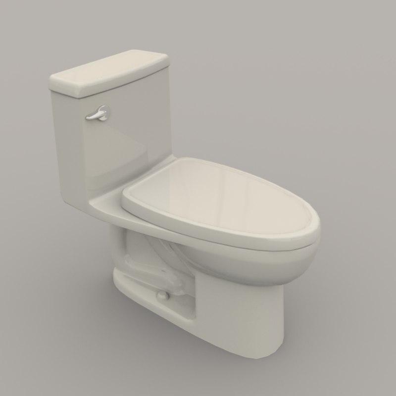 toilet polys unity model
