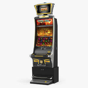 casino slot machine gold 3D model