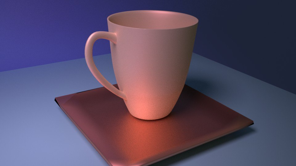 3D awesome coffee cup model