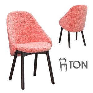 alba lounge chair 3D