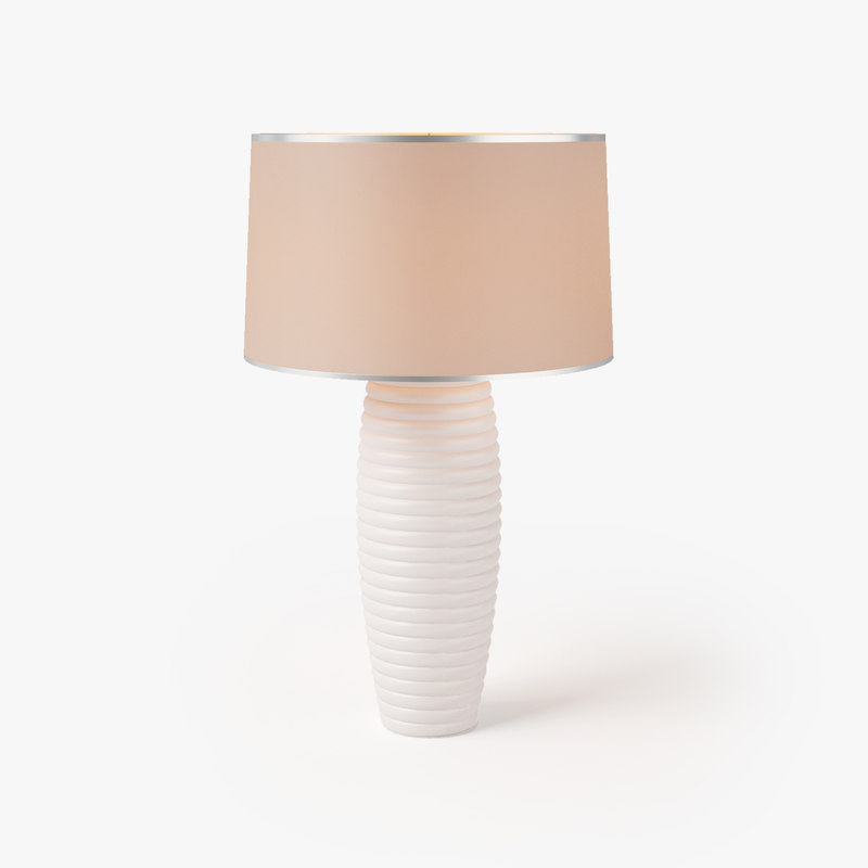nightstand table lamp 3D model