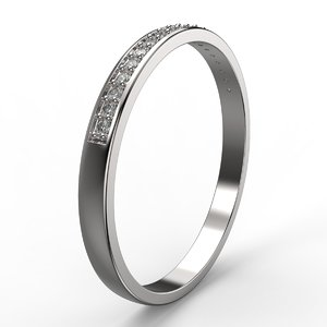 jewelry ring diamond 3D