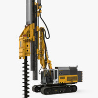 3D drill machine bauer rg16t model