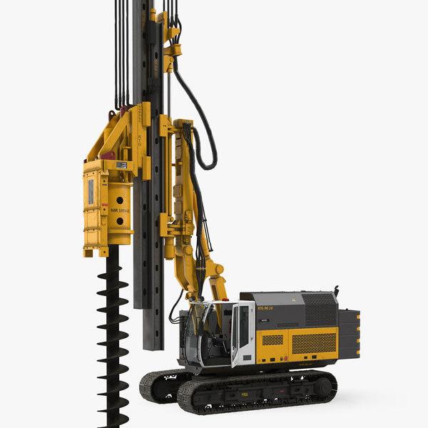 3D drill machine bauer rg16t model